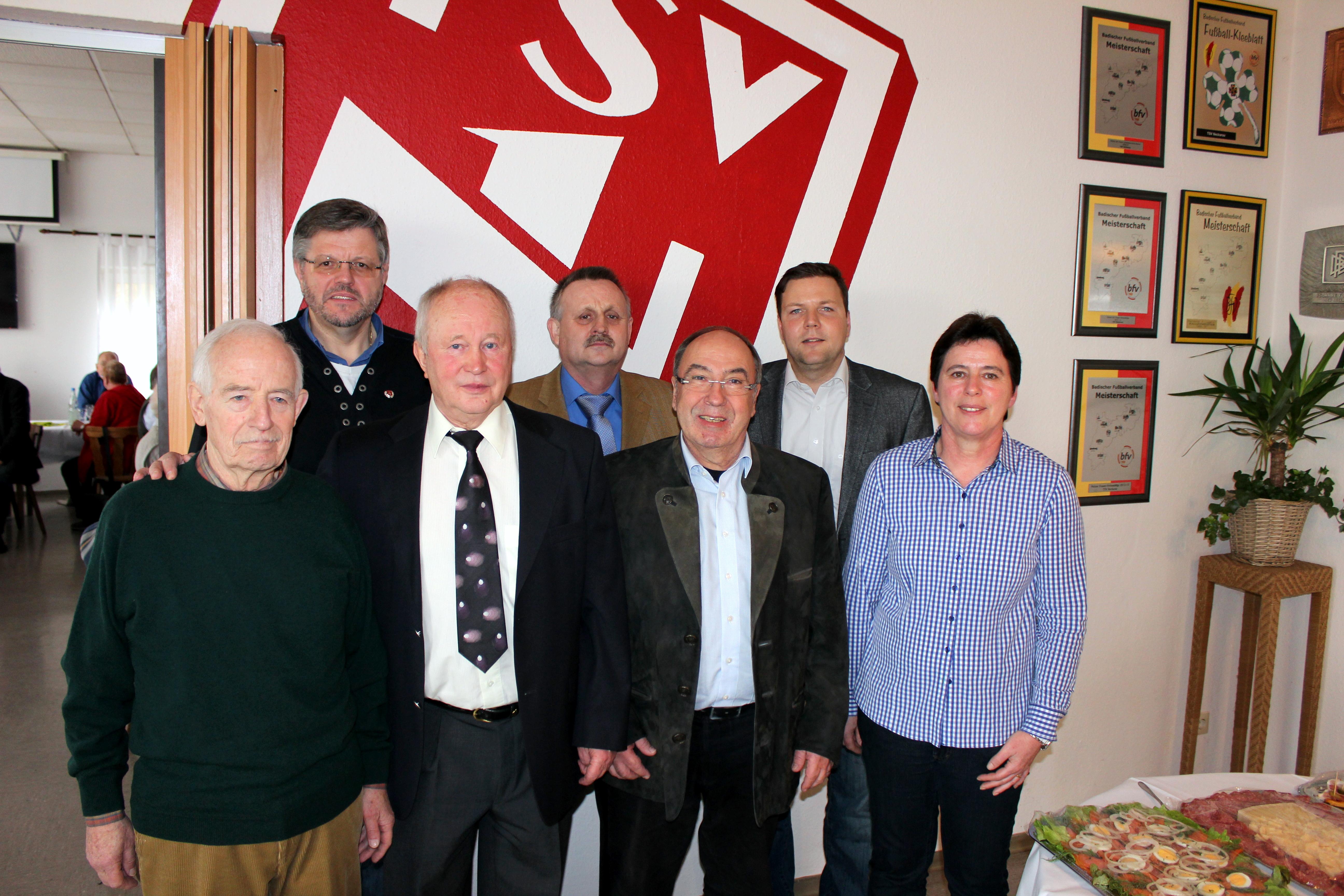 TSV Neckarau Jubilare 2013